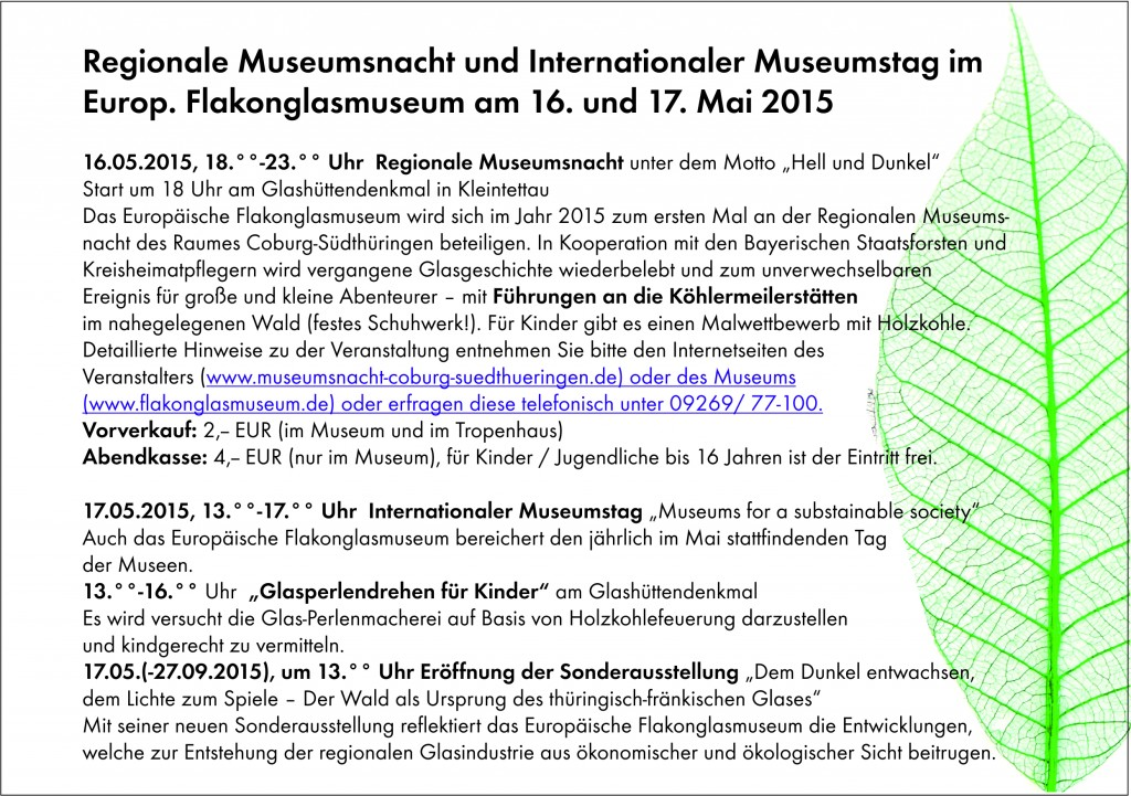 Museumsnacht & Internationaler Museumstag