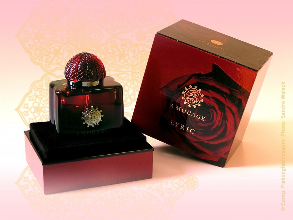 "Parfüm-Flakon ""Lyric""® mit Umverpackung, EdP; Amouage®, Maskat/ Oman, nach 2008"