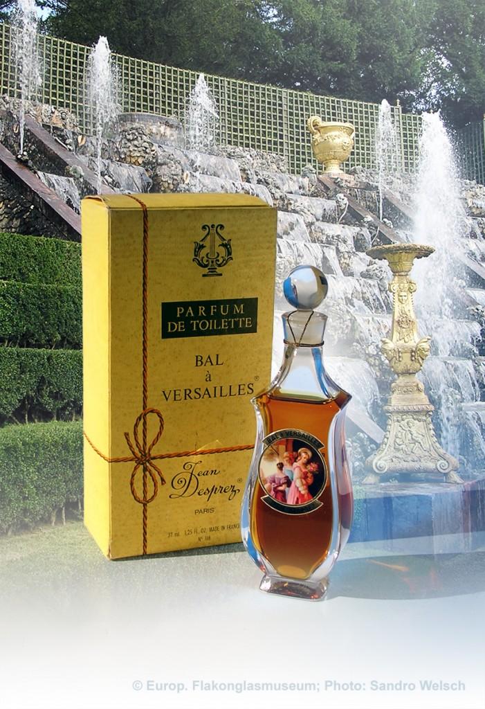 """Parfüm-Flakon """"Bal à Versailles®"""" mit Umverpackung, PdT; Jean Desprez®, Paris/ Frankreich, 1980er Jahre"""