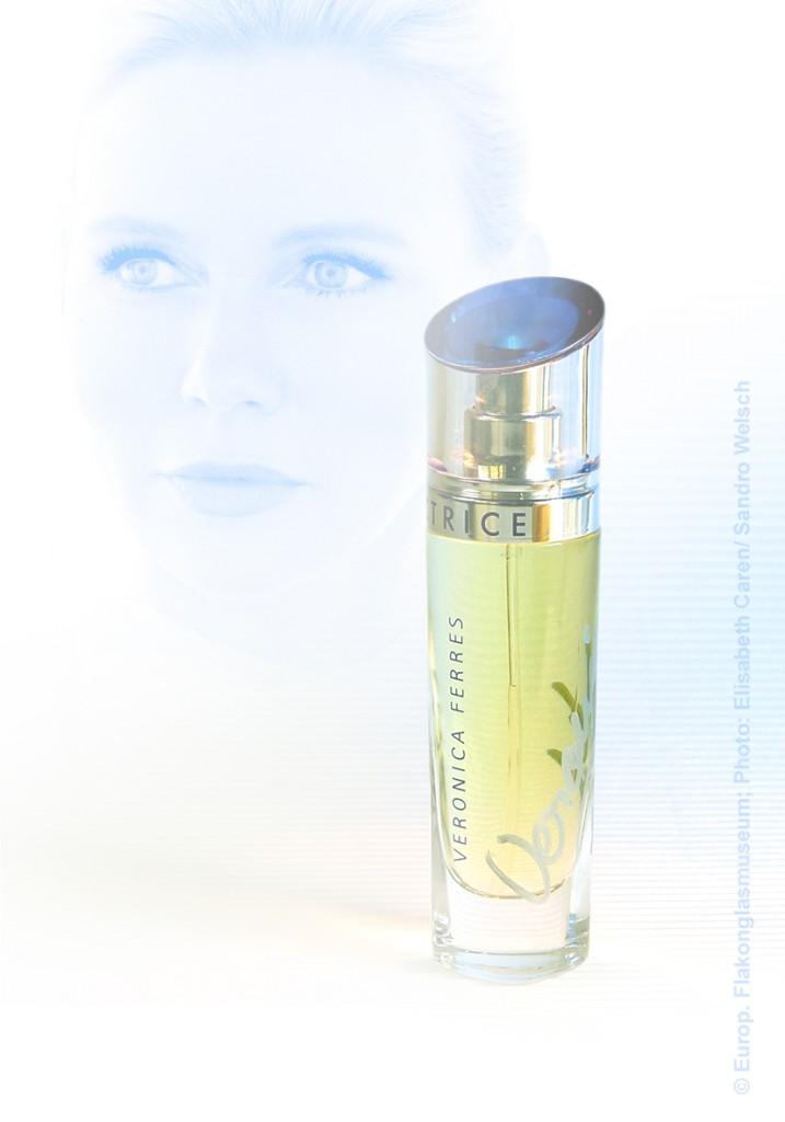 """Handsignierter Parfüm-Flakon """"Actrice""""® mit Umverpackung, EdP; Cosmeurop Parfums®, Stolberg/ Rhld./ Deutschland, nach 2005"""