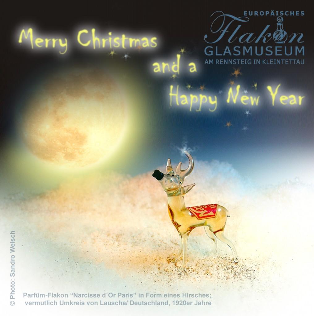 Weihnachtsgruß Europäisches Flakonglasmuseum 2015