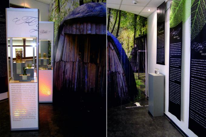 Sonderausstellung - Europ. Flakonglasmuseum