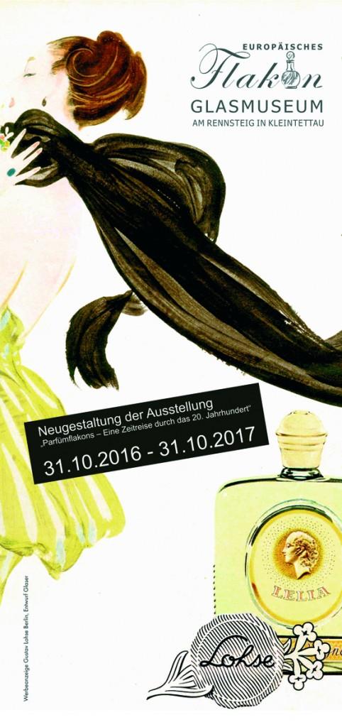Parfümflakons - Eine Zeitreise durch das 20. Jahrhundert 2016
